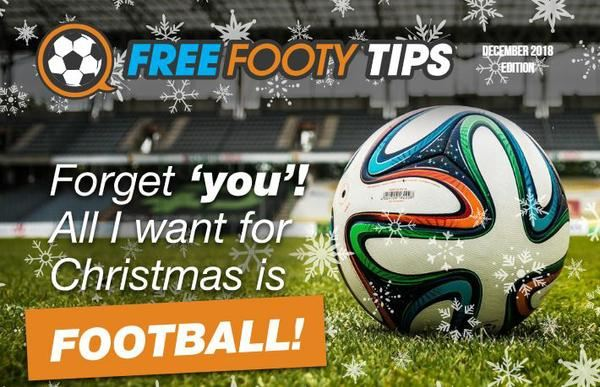 Free Footy Tips Christmas TV Guide 2018