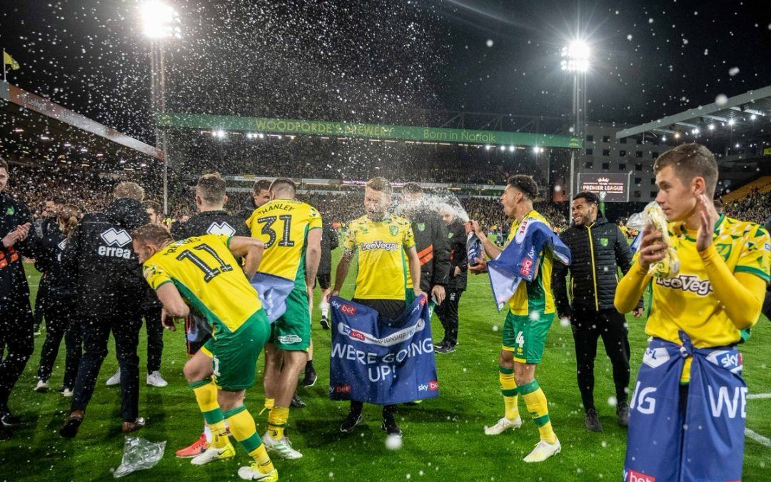 Championship winners Norwich 2000/1 to win the Premier League for 2019/2020